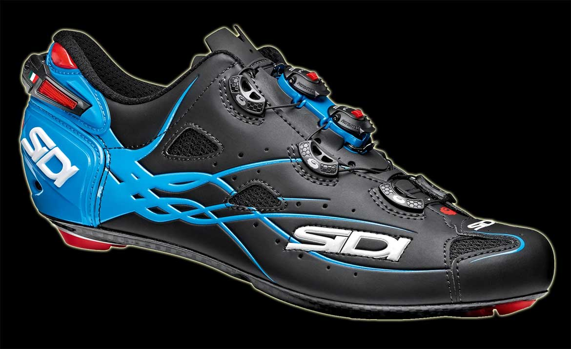 Sidi Shot Matt Line Blue