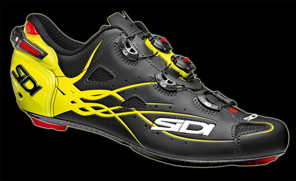 Sidi Shot Matt Line yellow